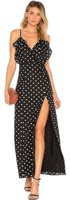 Preload https://img-static.tradesy.com/item/25897367/privacy-please-black-white-karen-in-dot-polka-long-formal-dress-size-4-s-0-1-650-650.jpg
