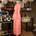 peach Maxi Dress by Vintage Ayers Unlimited Image 1