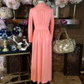 peach Maxi Dress by Vintage Ayers Unlimited Image 3