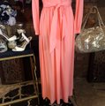 peach Maxi Dress by Vintage Ayers Unlimited Image 4