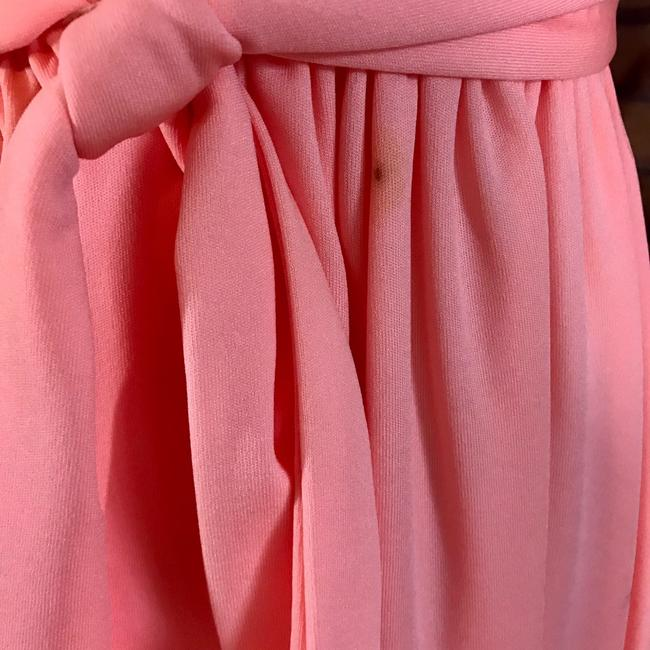 peach Maxi Dress by Vintage Ayers Unlimited Image 8