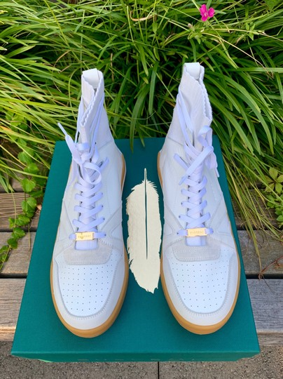 Buscemi Leather white Flats Image 2