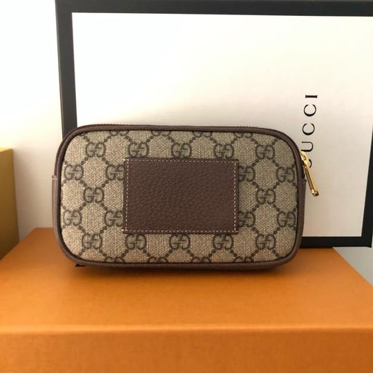Gucci Canvas Gold Hardware Belted Cross Body Bag Image 8