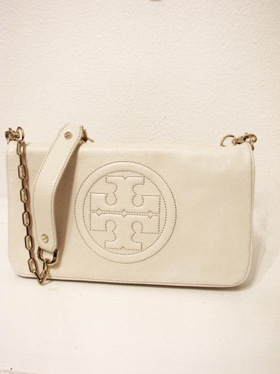 Tory Burch Off White Clutch Image 2