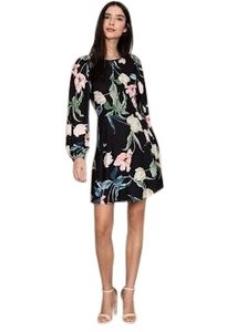 Yumi Kim Party Flowy Floral Print Date Dress