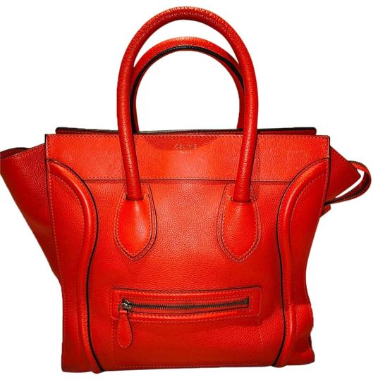 Céline Tote in Red Image 0