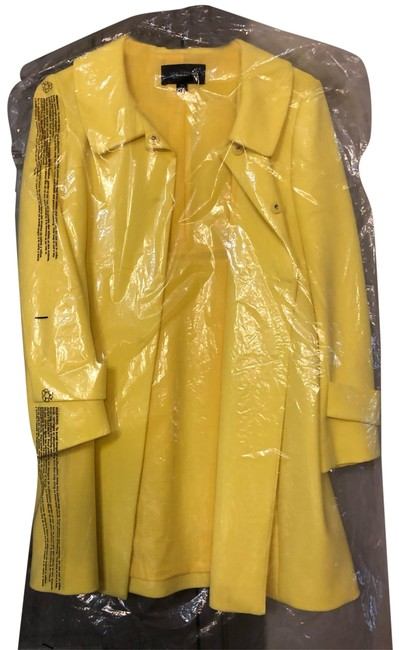 Preload https://img-static.tradesy.com/item/25897581/ann-taylor-yellow-trench-coat-40630965-jacket-size-2-xs-0-1-650-650.jpg