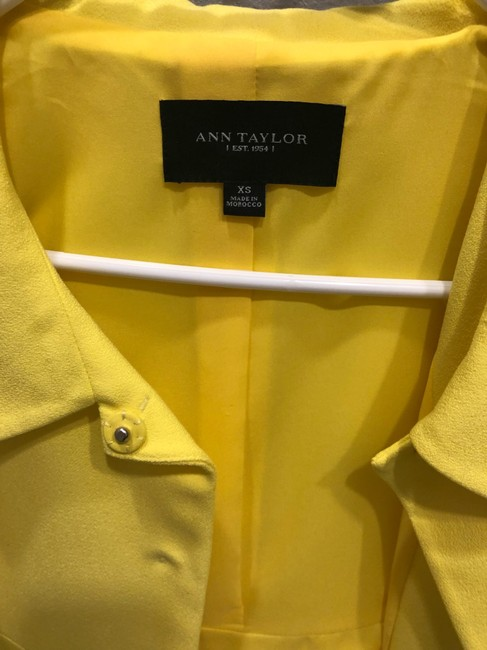 Ann Taylor yellow Jacket Image 1