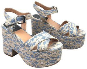 Laurence Dacade Blue Sandals