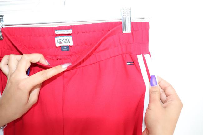 Tommy Hilfiger Baggy Pants Red Image 1