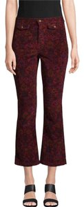 Free People Capri/Cropped Pants Wine
