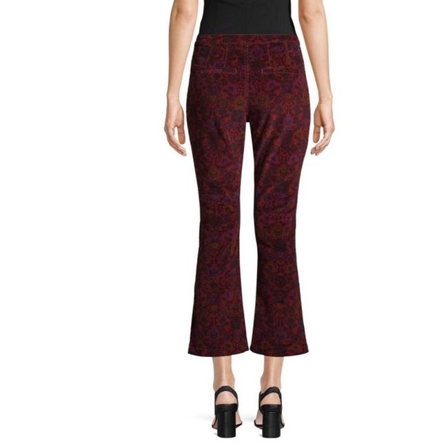 Free People Capri/Cropped Pants Wine Image 1