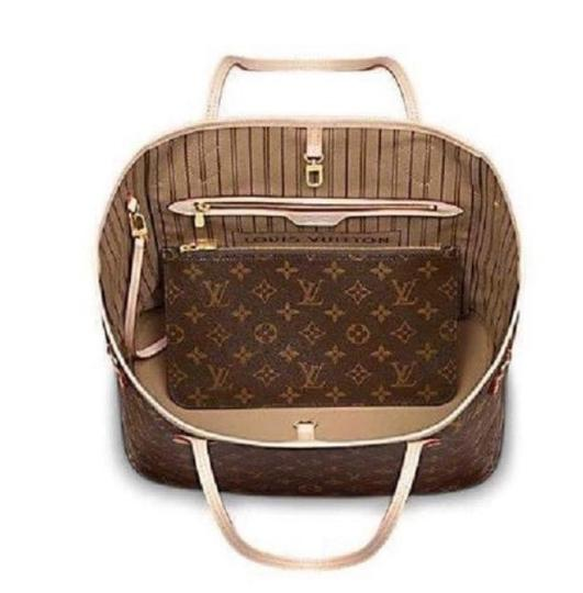Louis Vuitton Neverfull Luxury Limited Edition European Tote in Monogram Canvas Image 2
