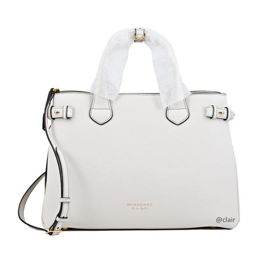 Burberry Satchel in Natural Image 1