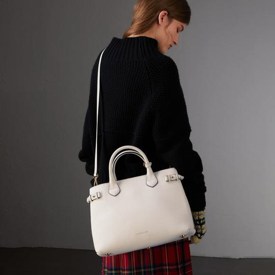 Burberry Satchel in Natural Image 8