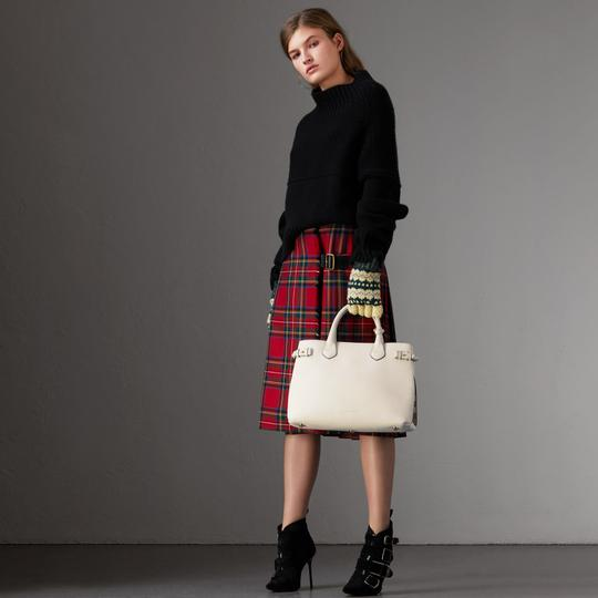 Burberry Satchel in Natural Image 9