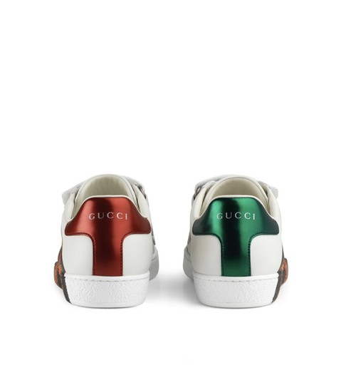 Gucci White/Red Athletic Image 2