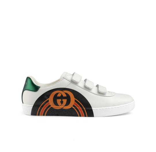 Gucci White/Red Athletic Image 3