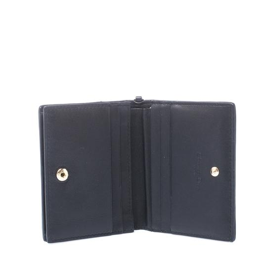 Dior Black Cannage Leather Lady Dior Flap Card Holder Image 3
