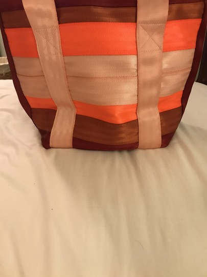 Maggie Bags Tote in Pink, Red & Orange Image 1