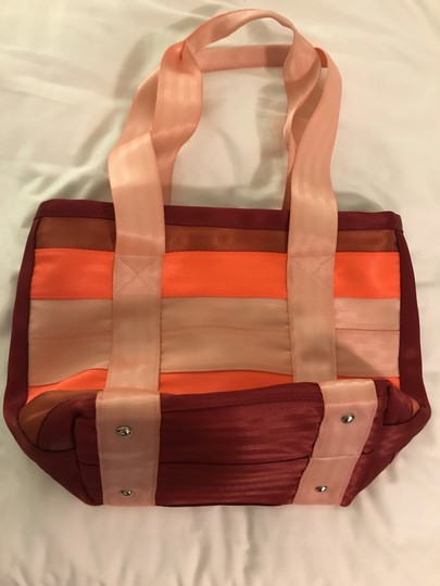 Maggie Bags Tote in Pink, Red & Orange Image 2