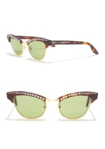 Gucci Authentic Gucci 41mm cat eyes crystals Acetate Sunglasses