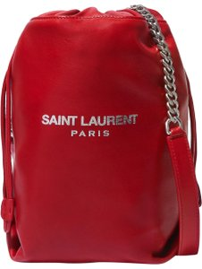 Saint Laurent Ysl Bucket Teddy Bucket Cross Body Bag