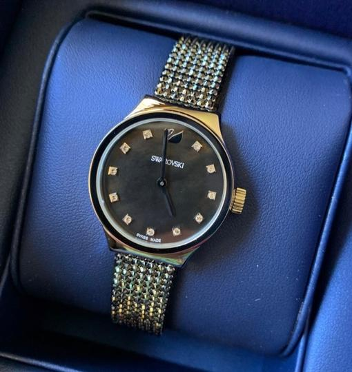 Swarovski Authentic Swarovski 28mm Stainless Mother of pearl crystals watch Image 1