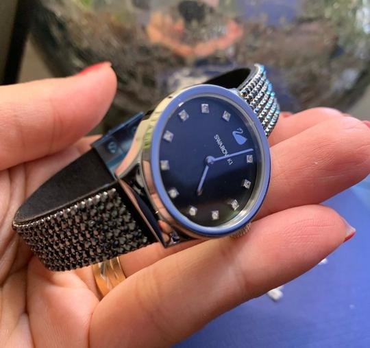 Swarovski Authentic Swarovski 28mm Stainless Mother of pearl crystals watch Image 2