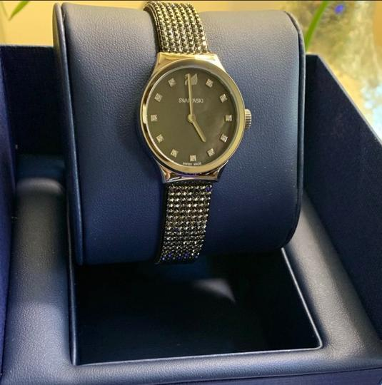 Swarovski Authentic Swarovski 28mm Stainless Mother of pearl crystals watch Image 4