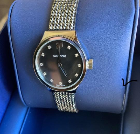 Swarovski Authentic Swarovski 28mm Stainless Mother of pearl crystals watch Image 5