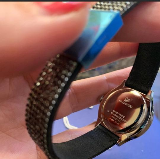 Swarovski Authentic Swarovski 28mm Stainless Mother of pearl crystals watch Image 6