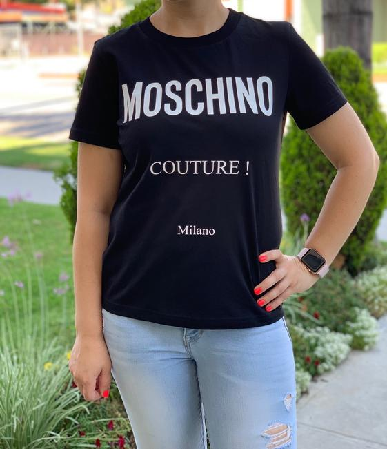 Moschino T Shirt Black Image 2