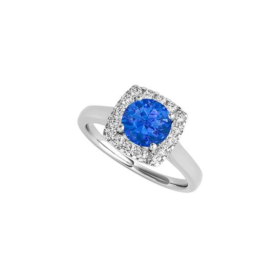 Preload https://img-static.tradesy.com/item/25897829/blue-sapphire-and-cz-halo-engagement-in-14k-white-gold-ring-0-0-540-540.jpg