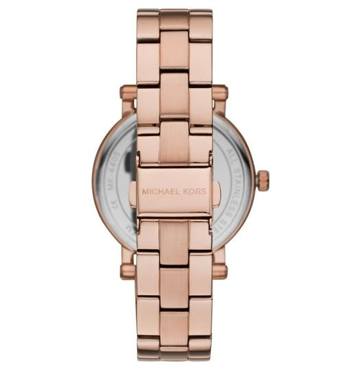 Michael Kors NEW Women's Norie Rose Gold-Tone Stainless Steel Watch MK4405 Image 1