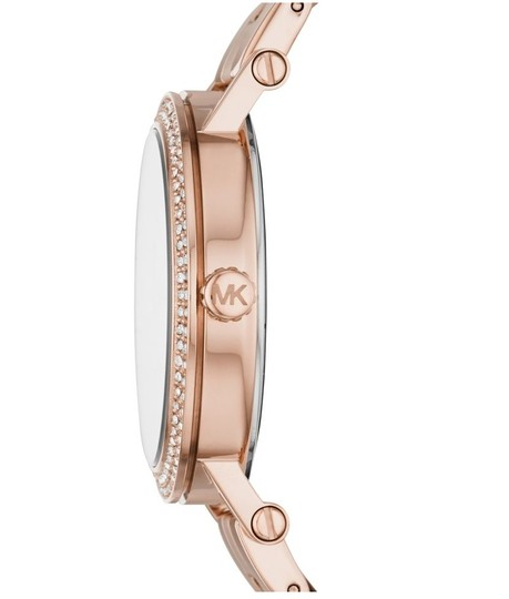 Michael Kors NEW Women's Norie Rose Gold-Tone Stainless Steel Watch MK4405 Image 2