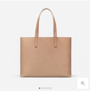 Everlane Tote in Light Taupe