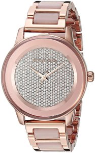 Michael Kors Michael Kors Kinley Rose Gold-Tone and Blush Acetate Watch MK6432