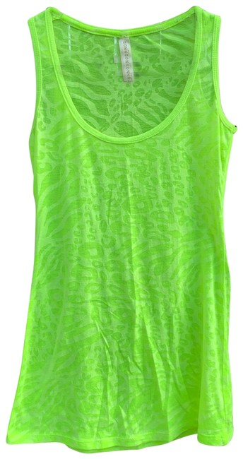 Item - Neon Green Tank Top/Cami Size 4 (S)