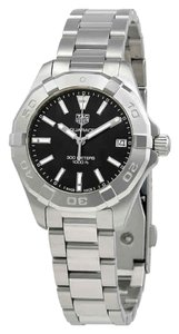 TAG Heuer Aquaracer Index H-Marker Stainless Steel Quartz Round Ladies Watch