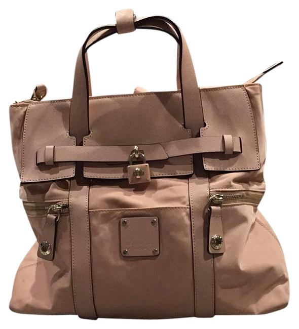 Item - Jetsetter Mahogany Rose Nylon/Leather Backpack