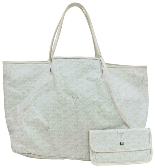 Preload https://img-static.tradesy.com/item/25898694/goyard-chevron-st-louis-with-pouch-871180-white-coated-canvas-tote-0-1-540-540.jpg