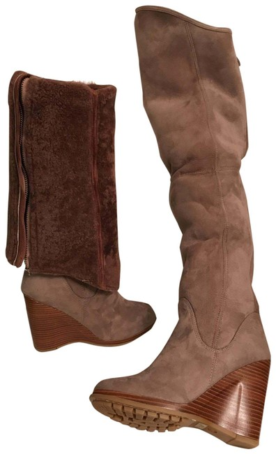Item - Gray Beige Mauve New Collection Fiorentina Boots/Booties Size US 7 Regular (M, B)
