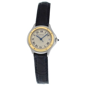 Cartier Ladies' Cartier Panthere Cougar 1190 18K Yellow Gold Steel Quartz