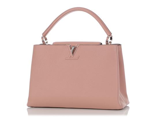 Louis Vuitton Lv.q0710.11 Silver Hardware Lv Mm Satchel in Pink Image 1