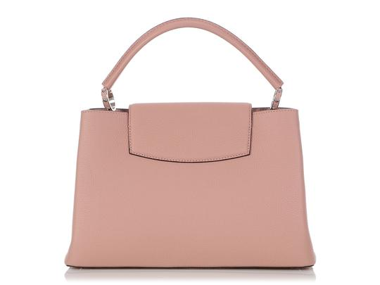 Louis Vuitton Lv.q0710.11 Silver Hardware Lv Mm Satchel in Pink Image 3