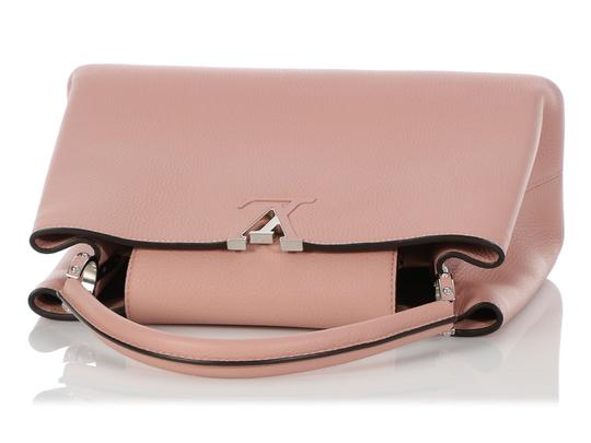 Louis Vuitton Lv.q0710.11 Silver Hardware Lv Mm Satchel in Pink Image 6