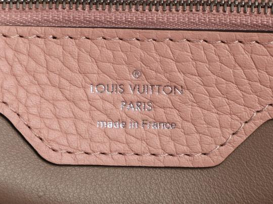 Louis Vuitton Lv.q0710.11 Silver Hardware Lv Mm Satchel in Pink Image 8