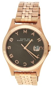 Marc by Marc Jacobs Marc By Marc Jacobs Rose Gold Stainless Steel MBM3350 34mm Watch