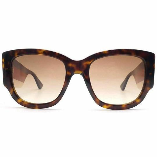 Gucci & Brown Gradient Lens Women's Cat Eye Sunglasses Image 1